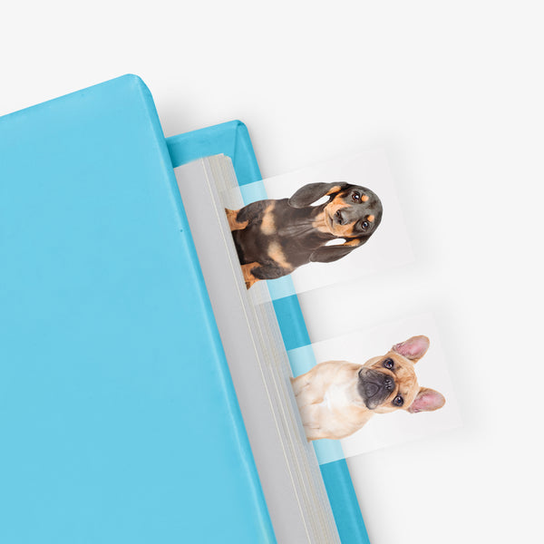 Outliving Page Markers | Dog In A Book | Peticular