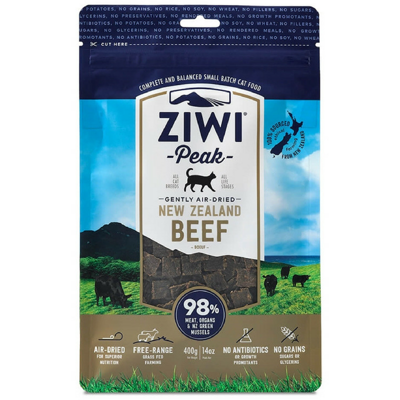 Ziwi Peak Air-Dried Cat Food | Beef | Peticular