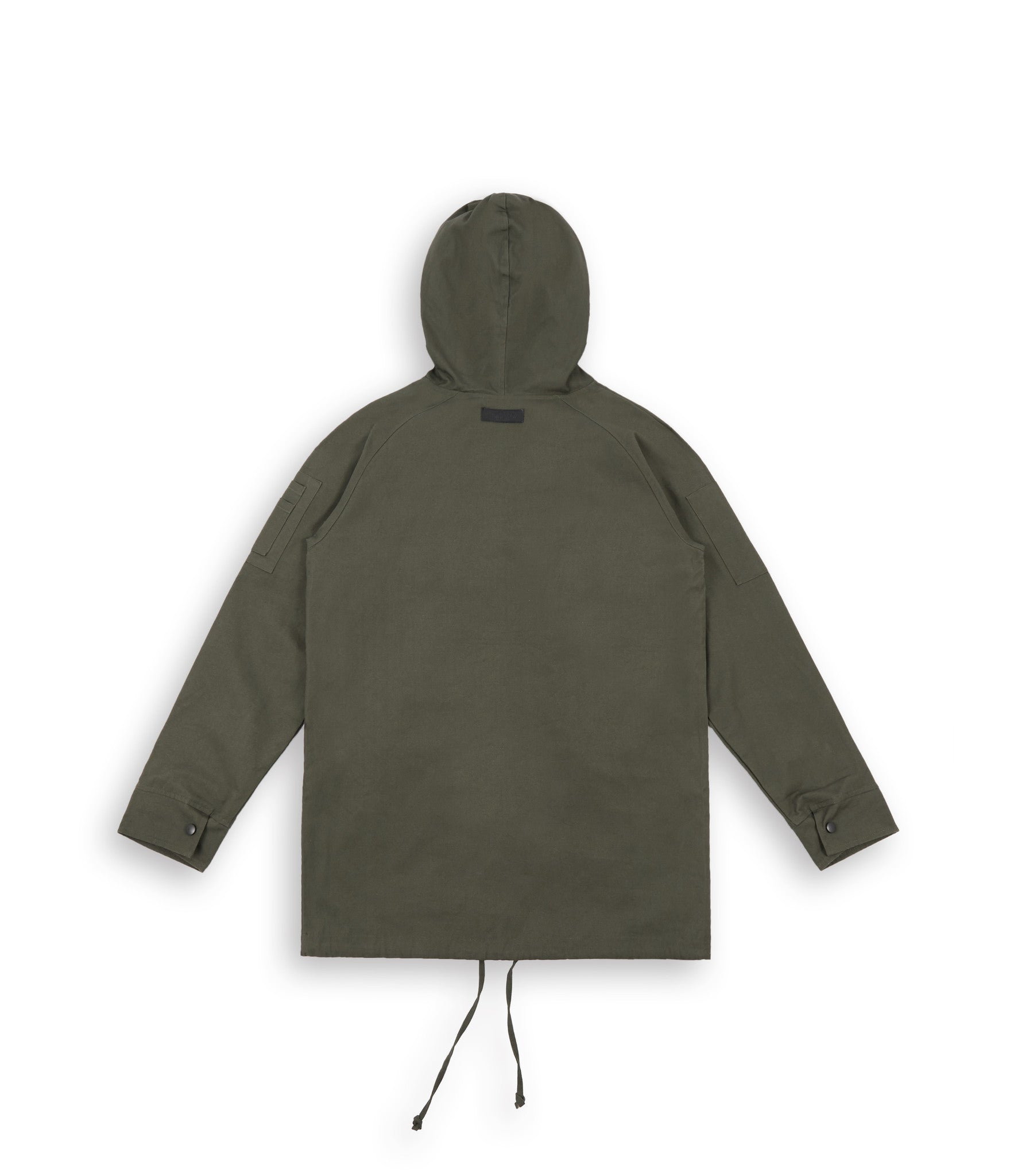 D22 Hooded Pullover Anorak - Military Green - underated london - underatedco - 3