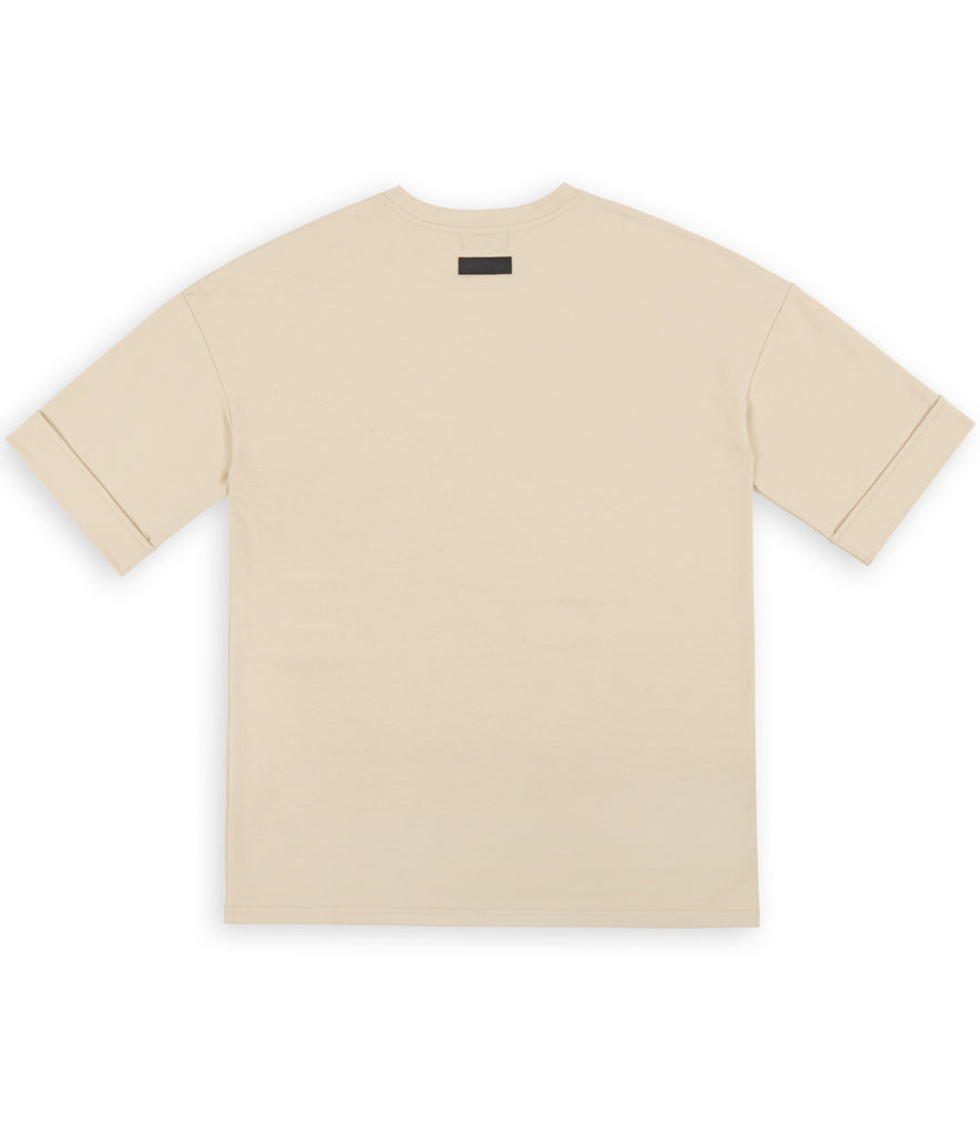 TS271 Oversized Tee - Beige - UNDERATED