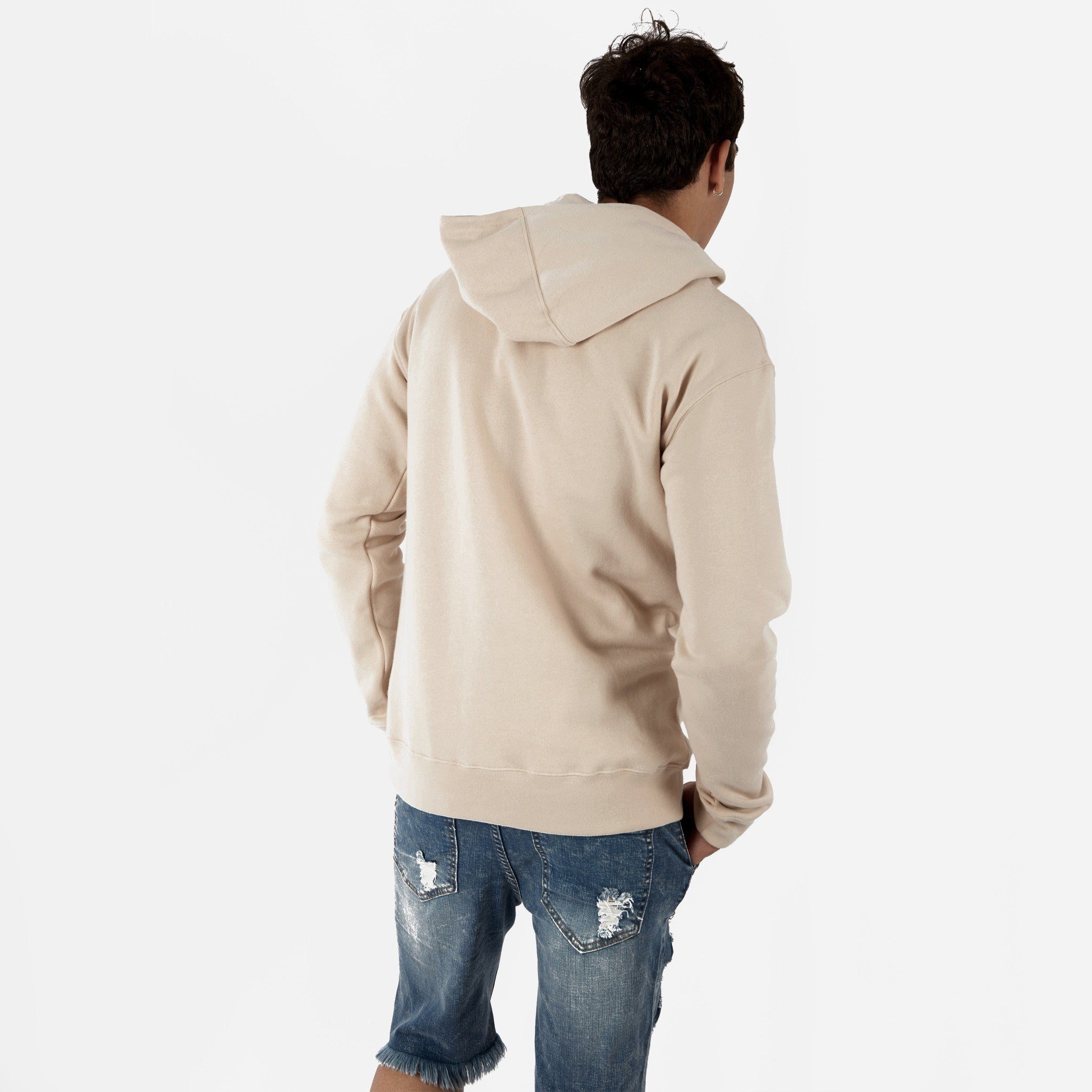 HD395 Essential Print Hoody - Nude - underated london - underatedco - 4