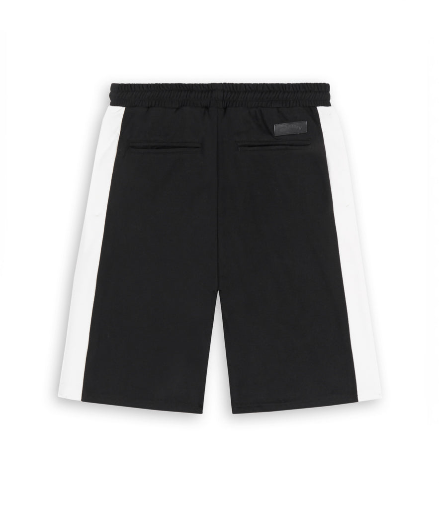SR214 Panel Shorts - Black - underated london - underatedco - 2
