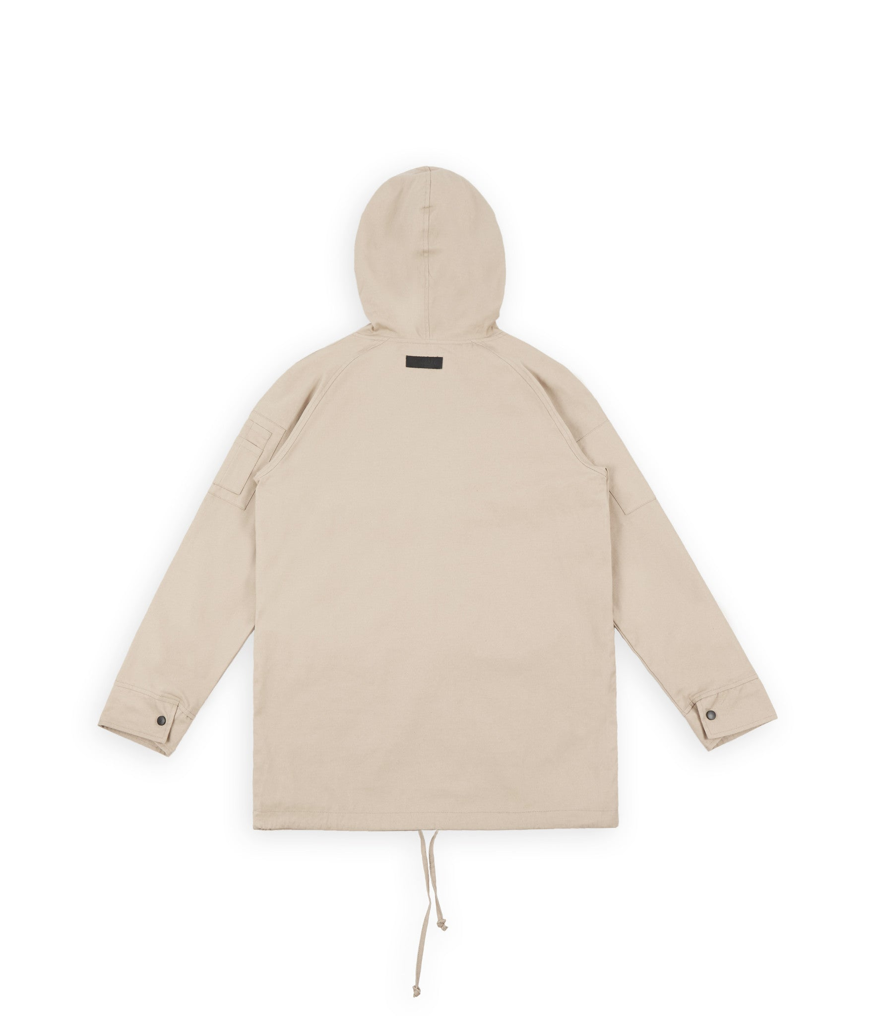 D22 Hooded Pullover Anorak  - Beige - underated london - underatedco - 3