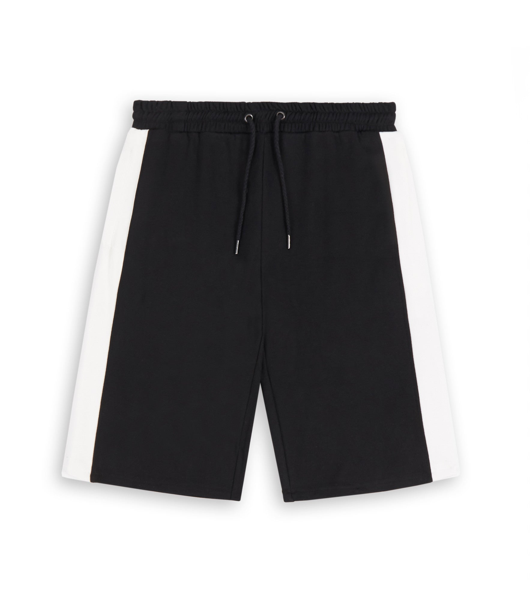 SR214 Panel Shorts - Black - underated london - underatedco - 1