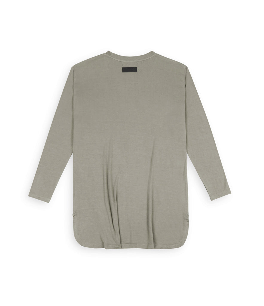 TS272 Under Layer 3/4 Sleeve Tee - Khaki - UNDERATED
