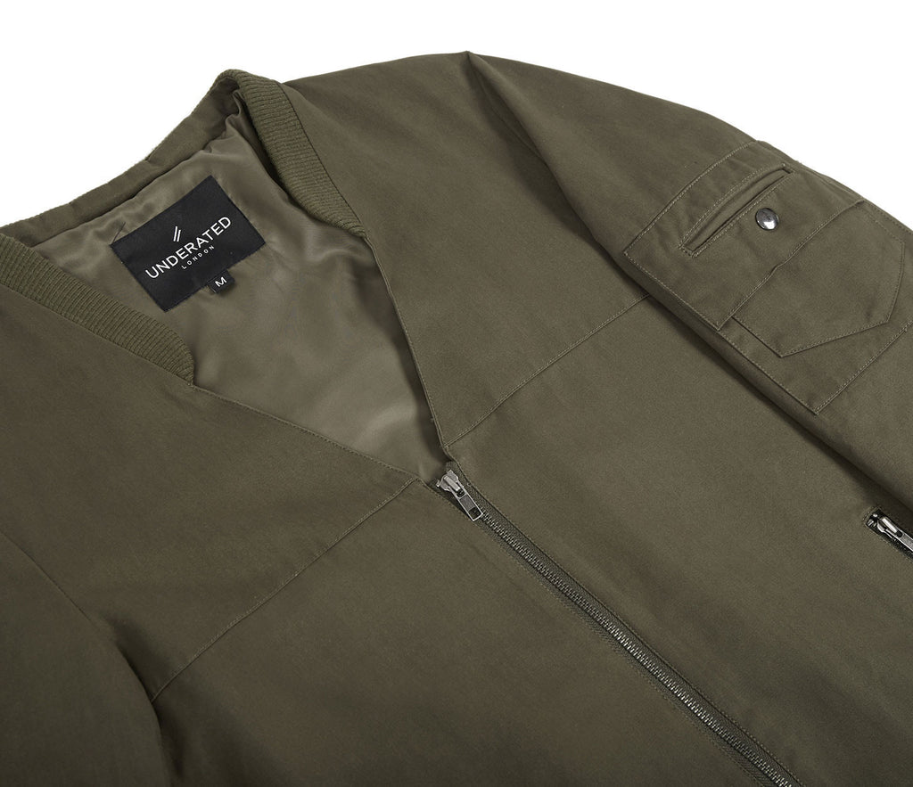 CT338 Utility Messenger Jacket - Khaki - UNDERATED