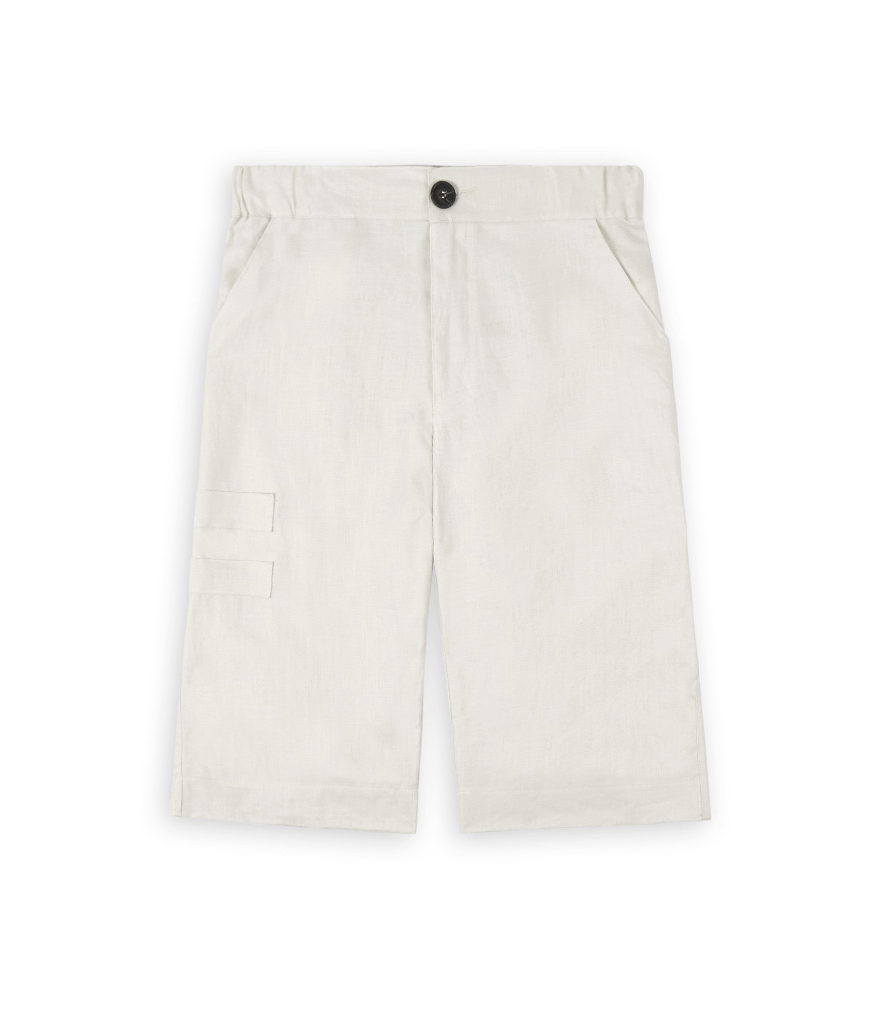 SR282 Exile Linen Shorts - Oyster - underated london - underatedco - 2