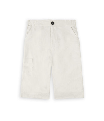 SR282 Exile Linen Shorts - Oyster - UNDERATED