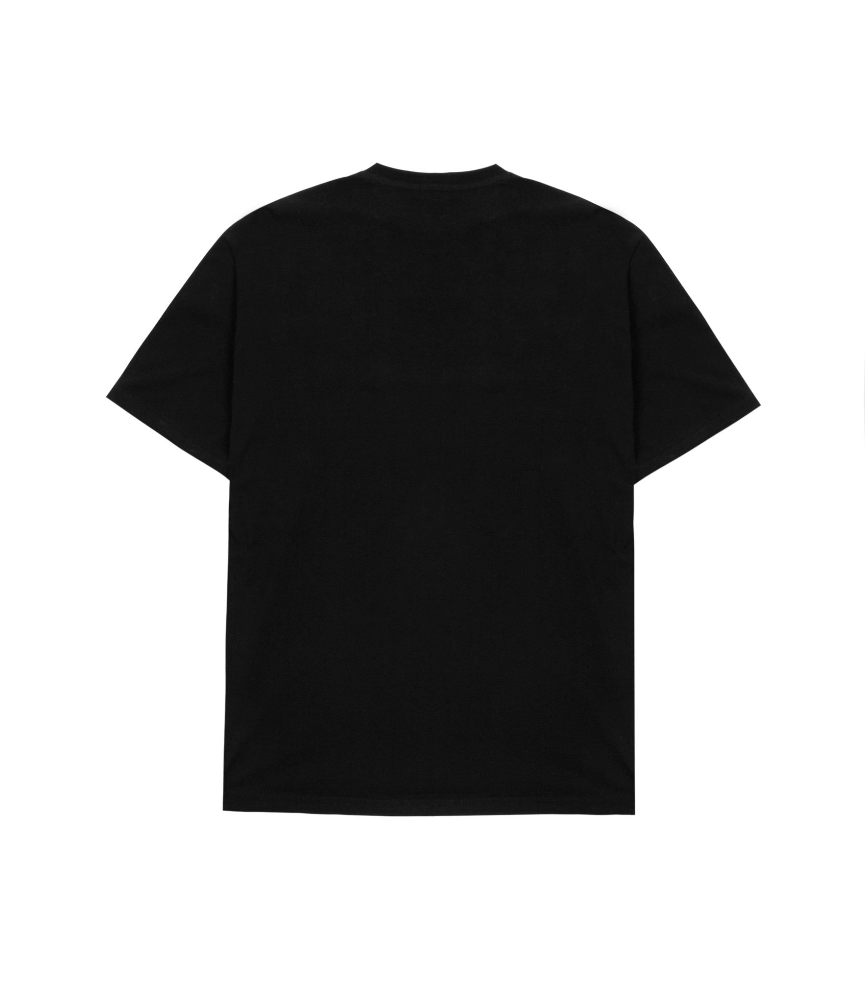 TS319 Box Logo Printed Tee - Black - underated london - underatedco - 3