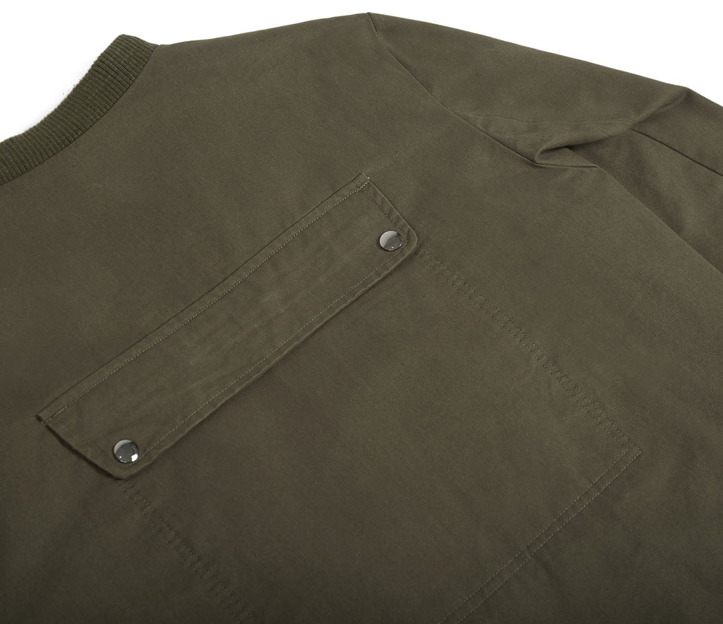 CT338 Utility Messenger Jacket - Khaki - underated london - underatedco - 6