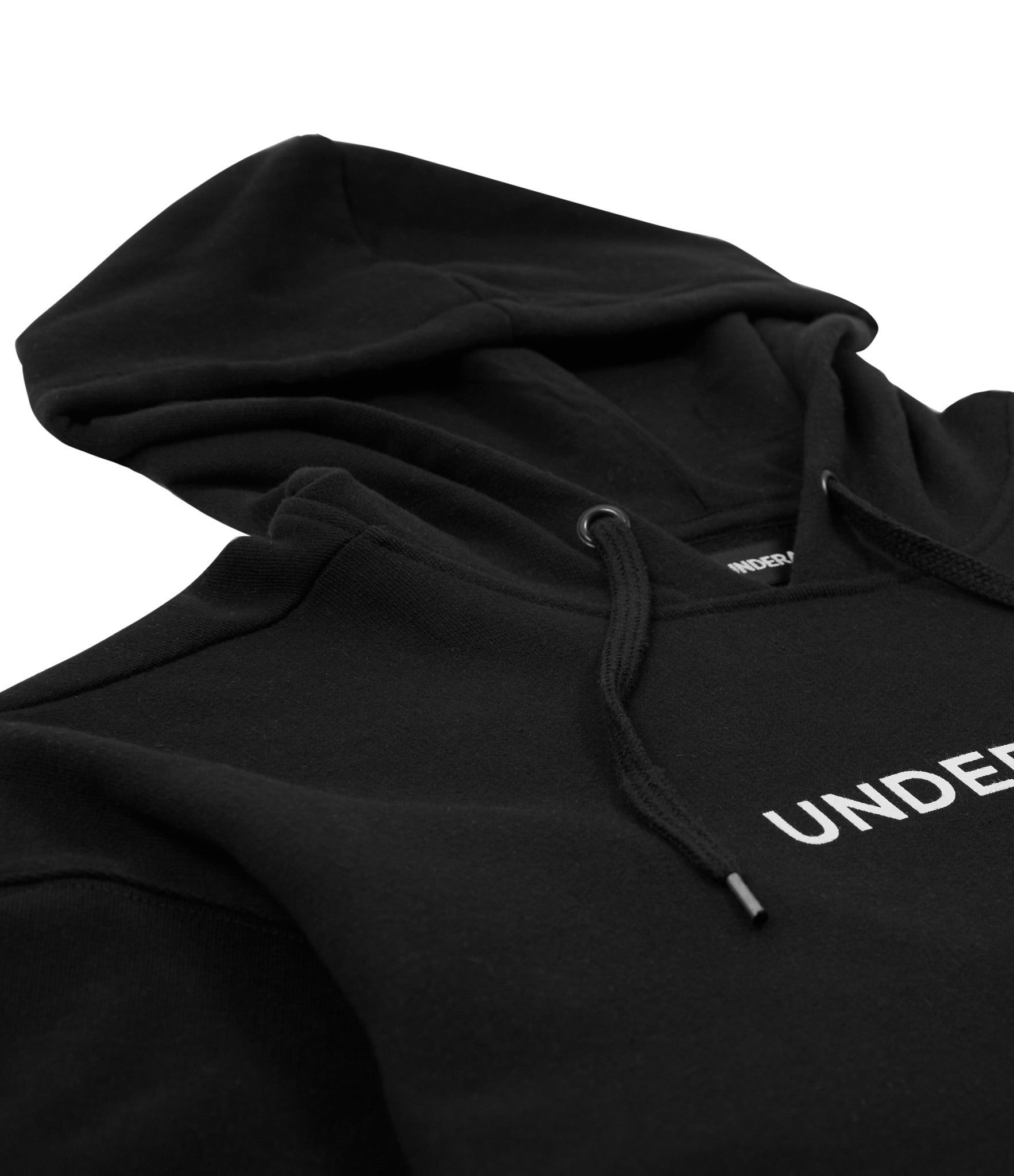 HD334 Printed Hoody - Black - underated london - underatedco - 2