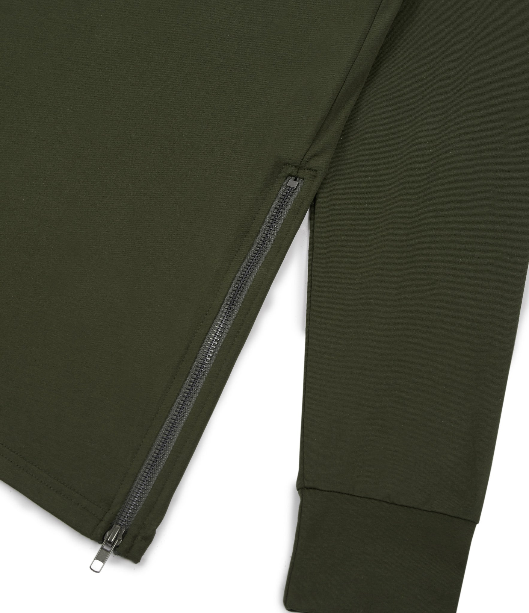 LS303 Utility Long-Sleeve Tee - Olive Green - underated london - underatedco - 2