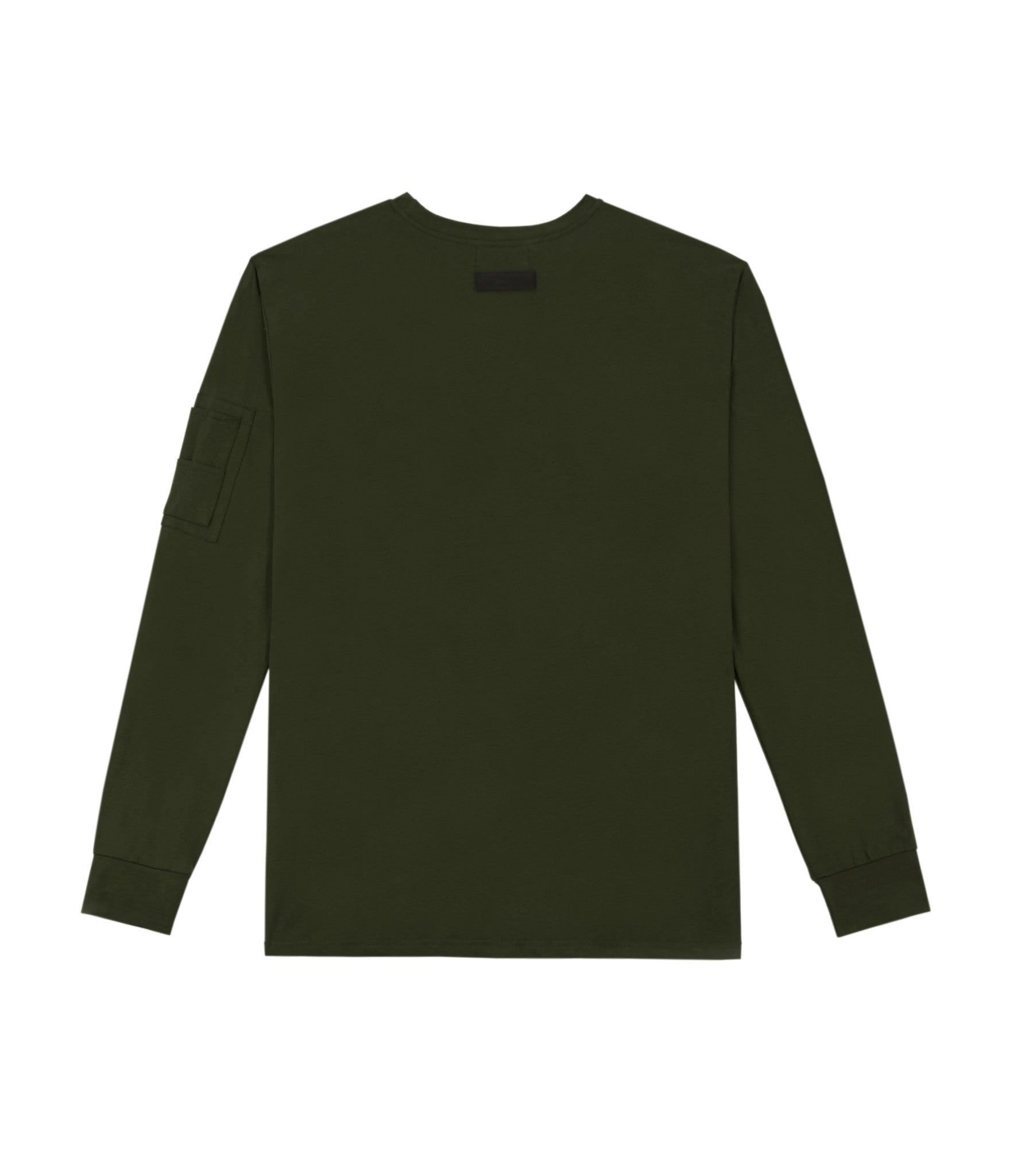 LS303 Utility Long-Sleeve Tee - Olive Green - underated london - underatedco - 3