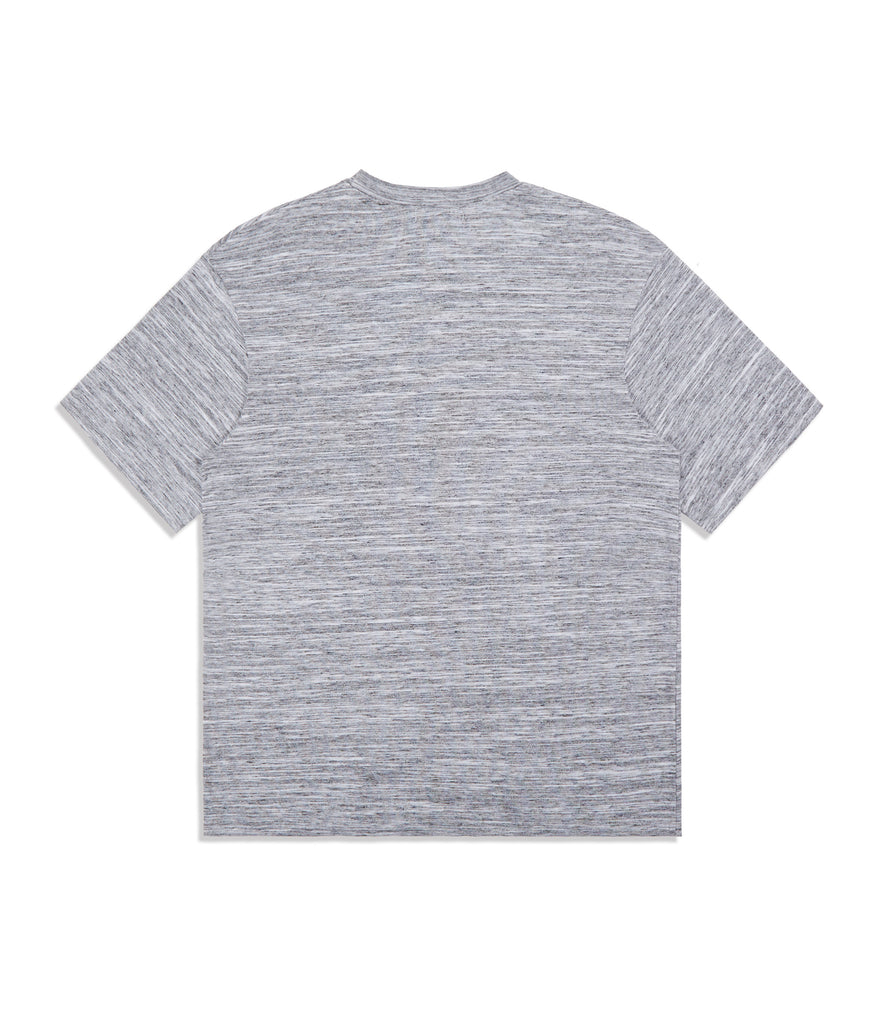 underated oversized fit t-shirt - grey marl