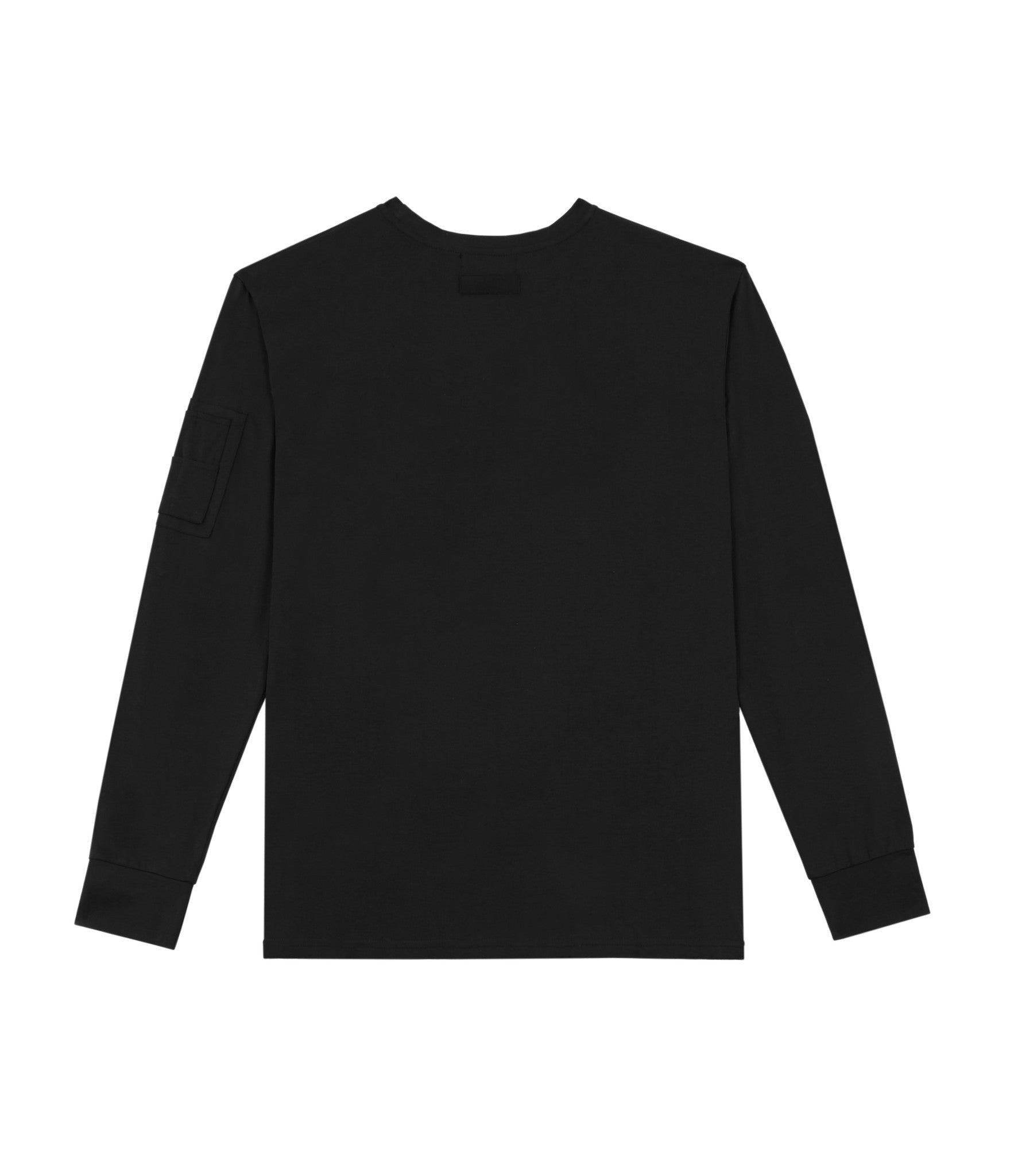 LS303 Utility Long-Sleeve Tee - Black - underated london - underatedco - 3