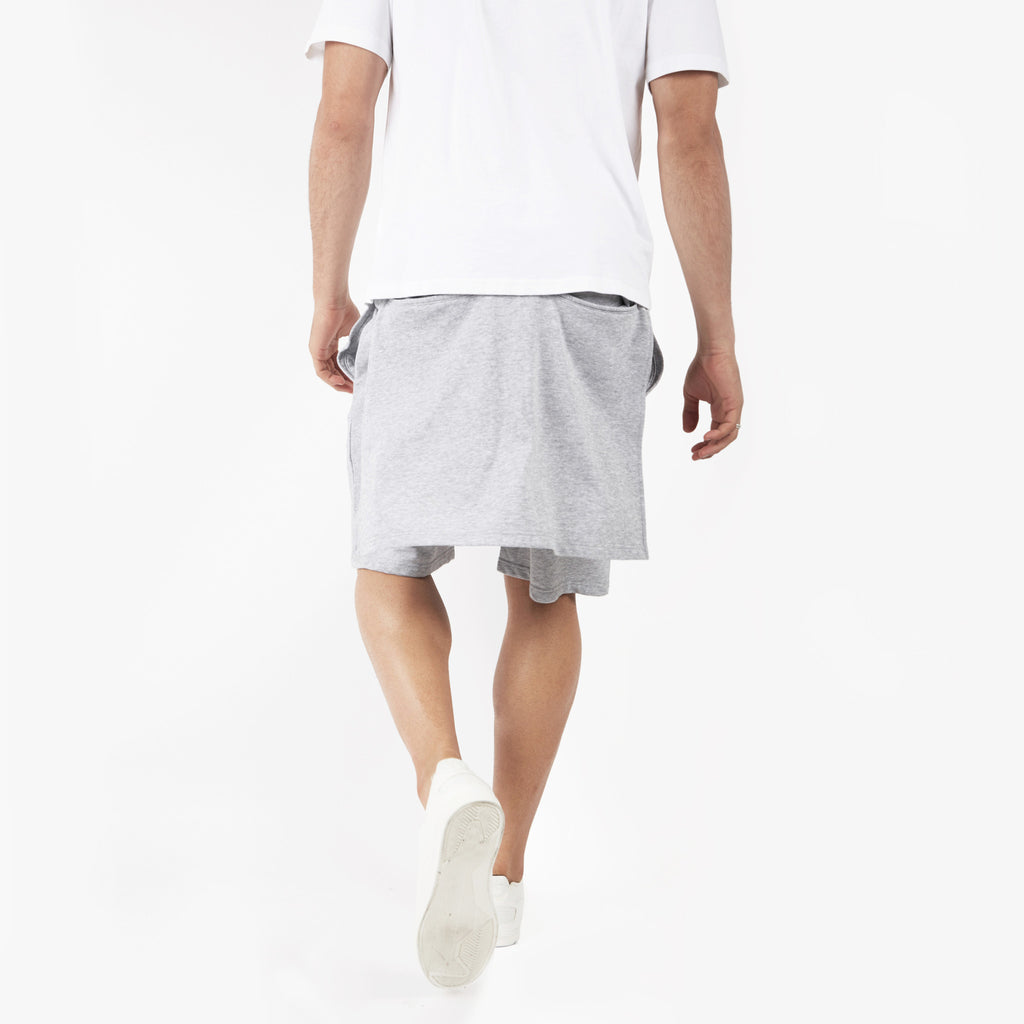 SR054 Layered Shorts - Grey - underated london - underatedco - 6