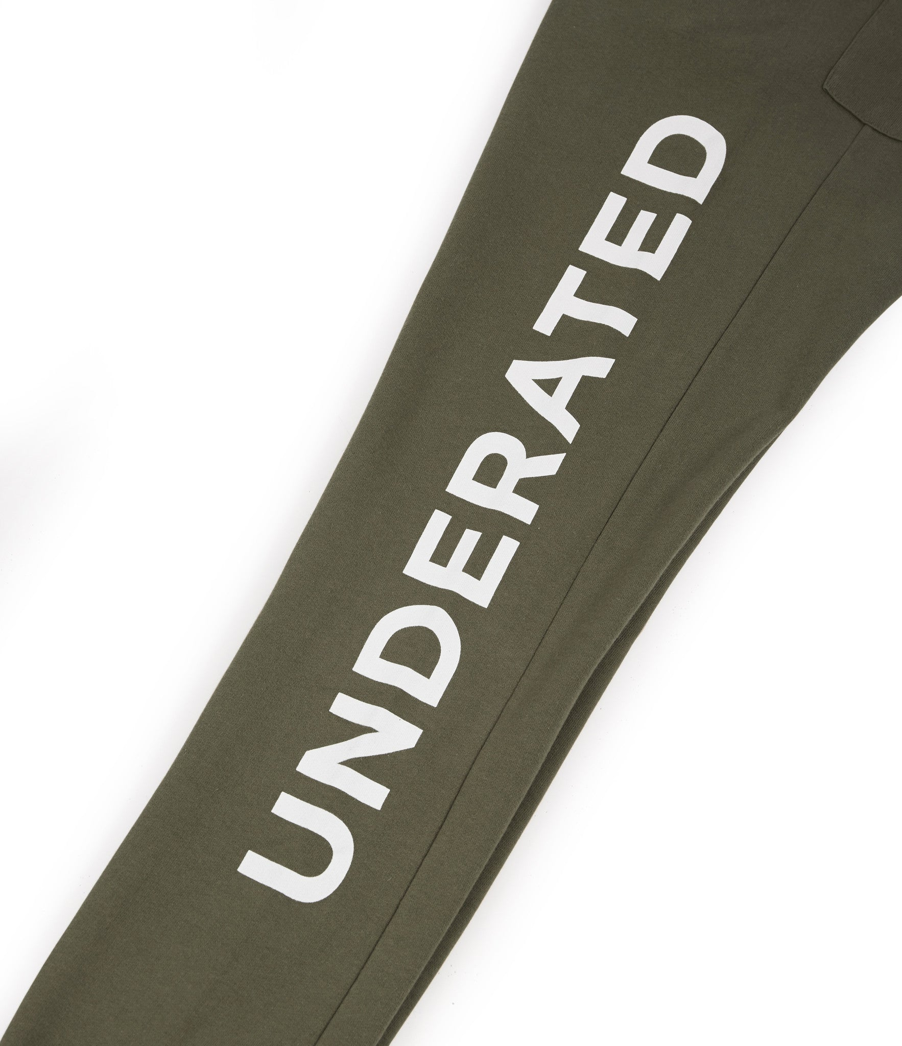 TR351 Essential Printed Joggers - Khaki - underated london - underatedco - 3