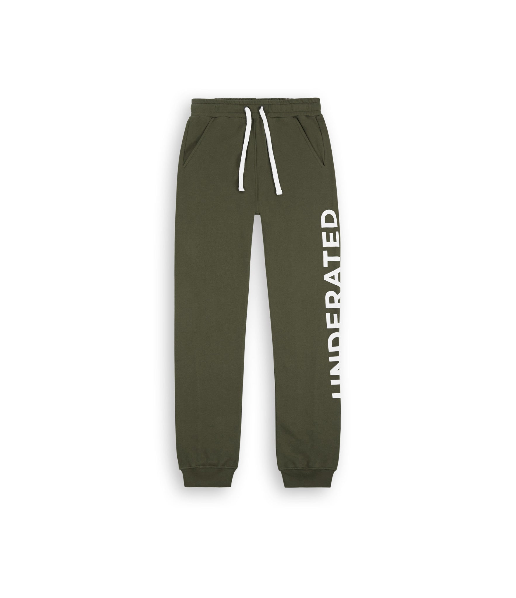 TR351 Essential Printed Joggers - Khaki - underated london - underatedco - 2