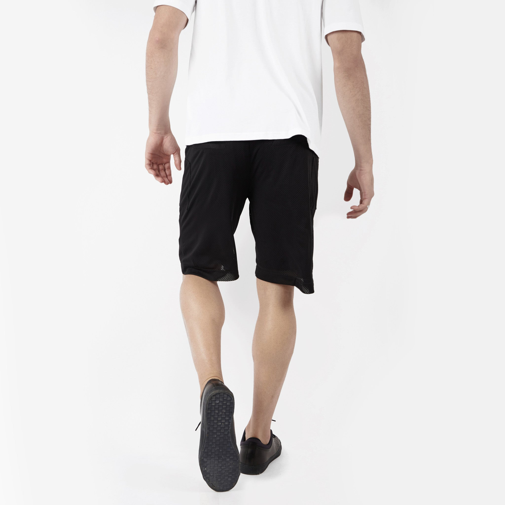 SR283 Utility Airtex Shorts - Black - underated london - underatedco - 5