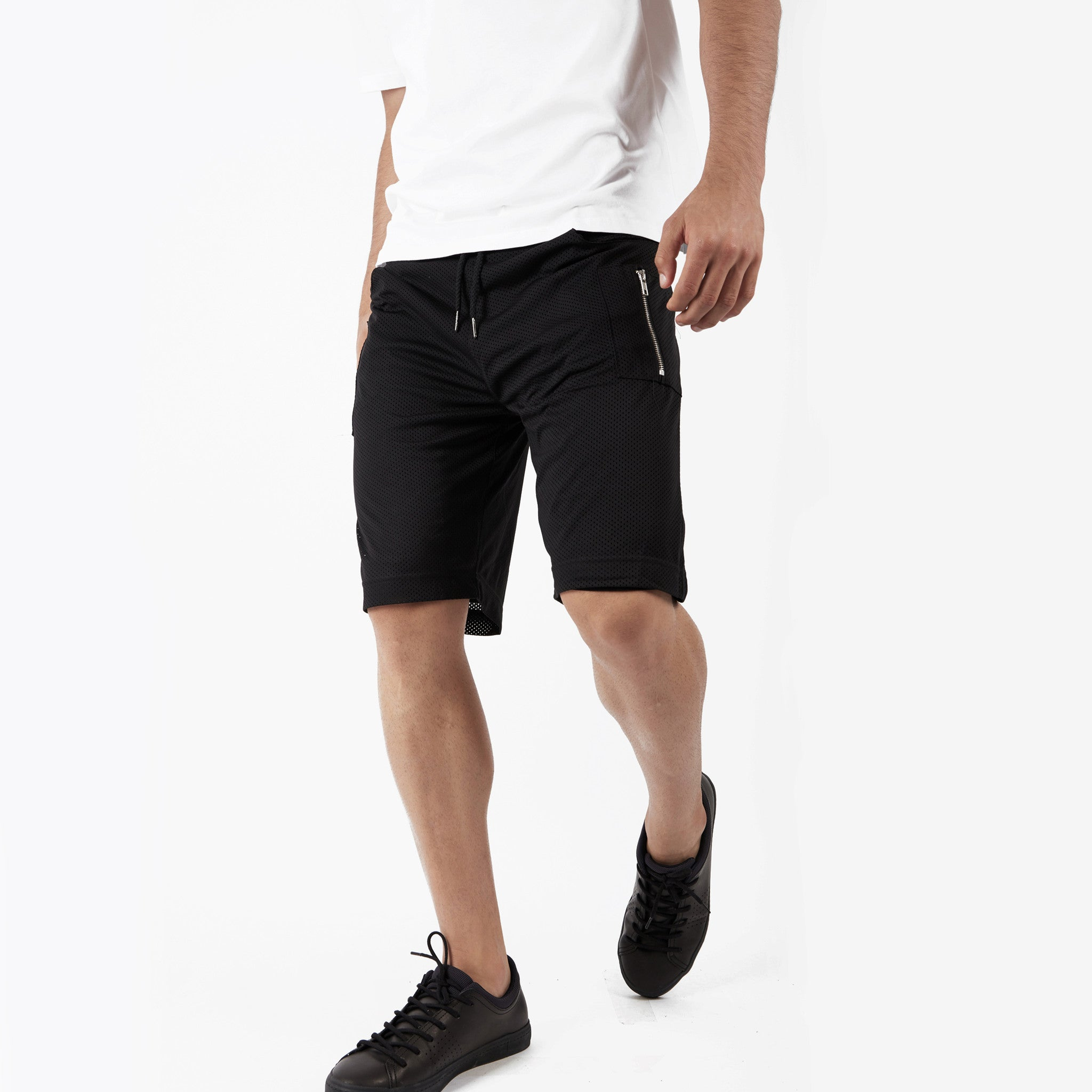 SR283 Utility Airtex Shorts - Black - underated london - underatedco - 7