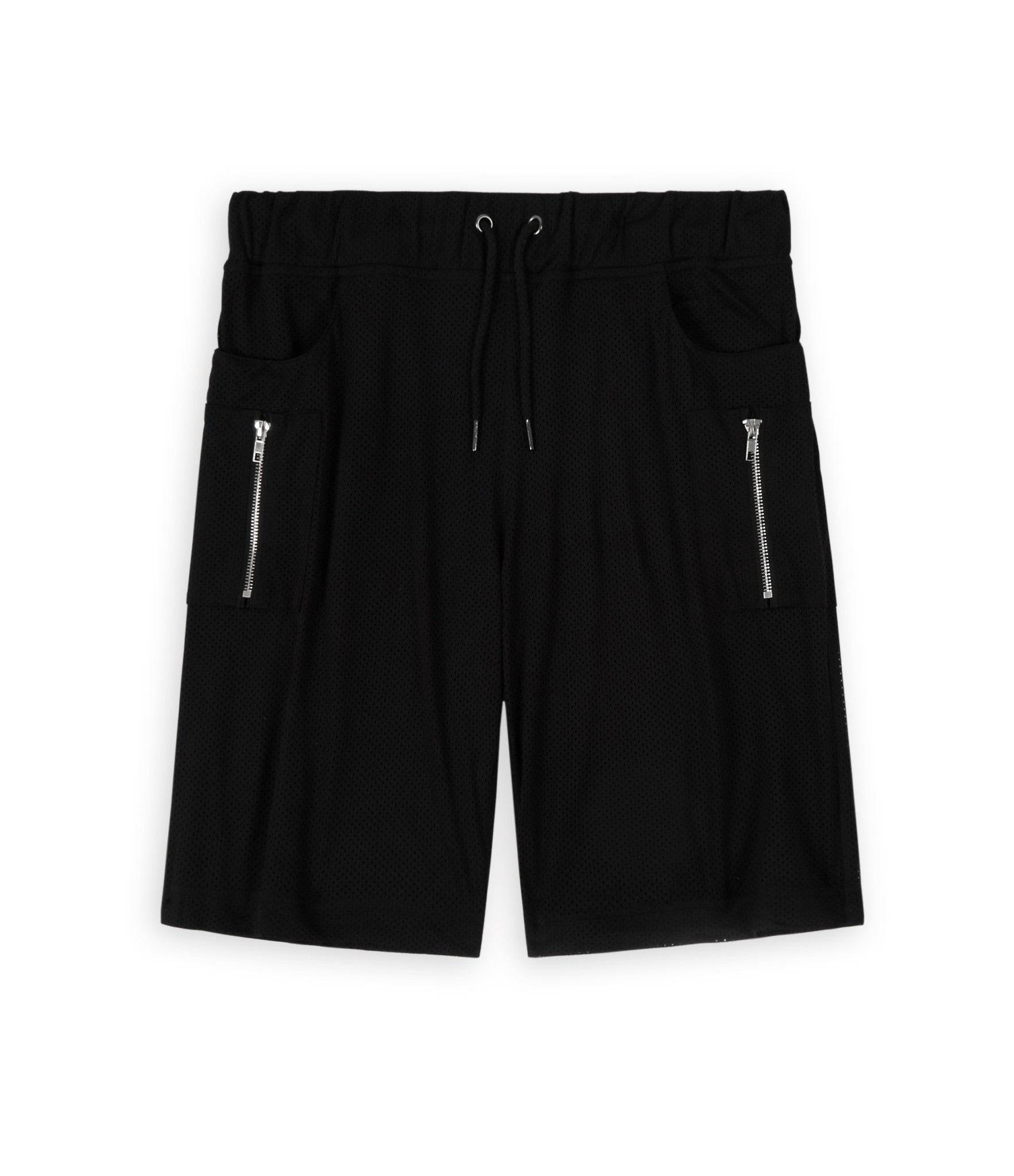 SR283 Utility Airtex Shorts - Black - underated london - underatedco - 2