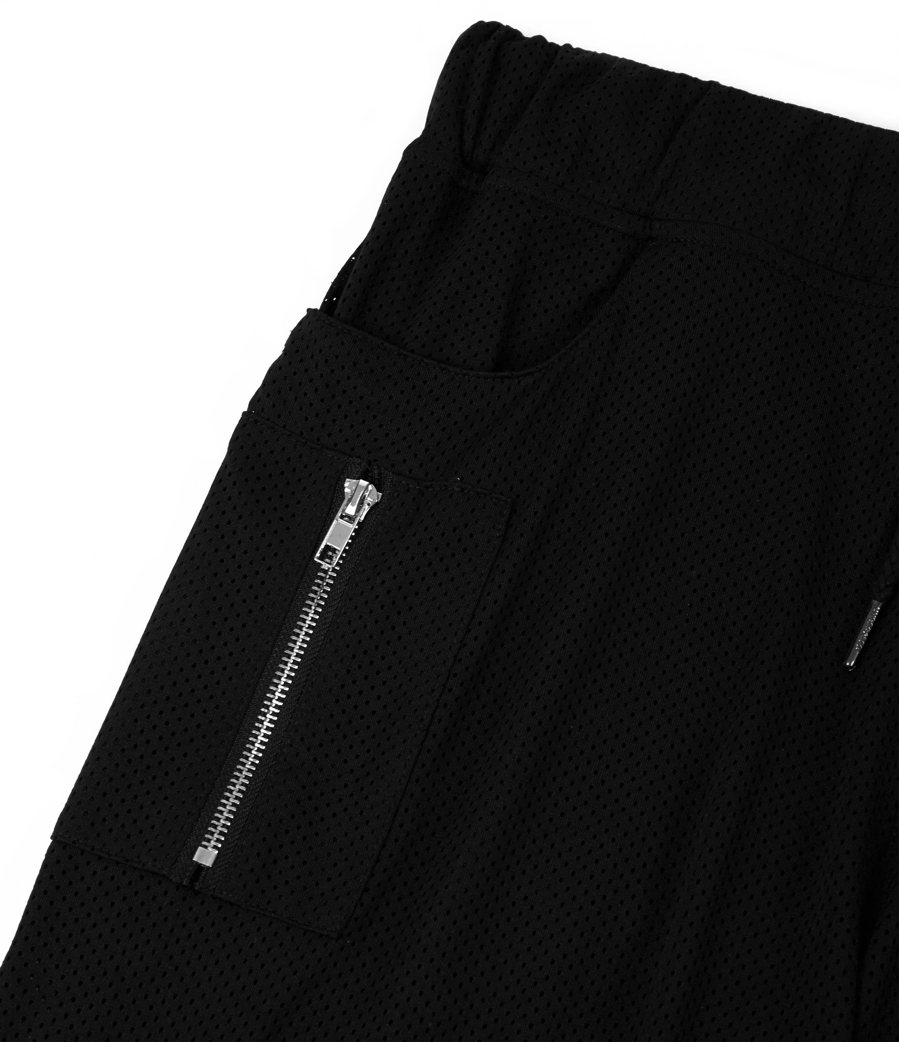 SR283 Utility Airtex Shorts - Black - underated london - underatedco - 4