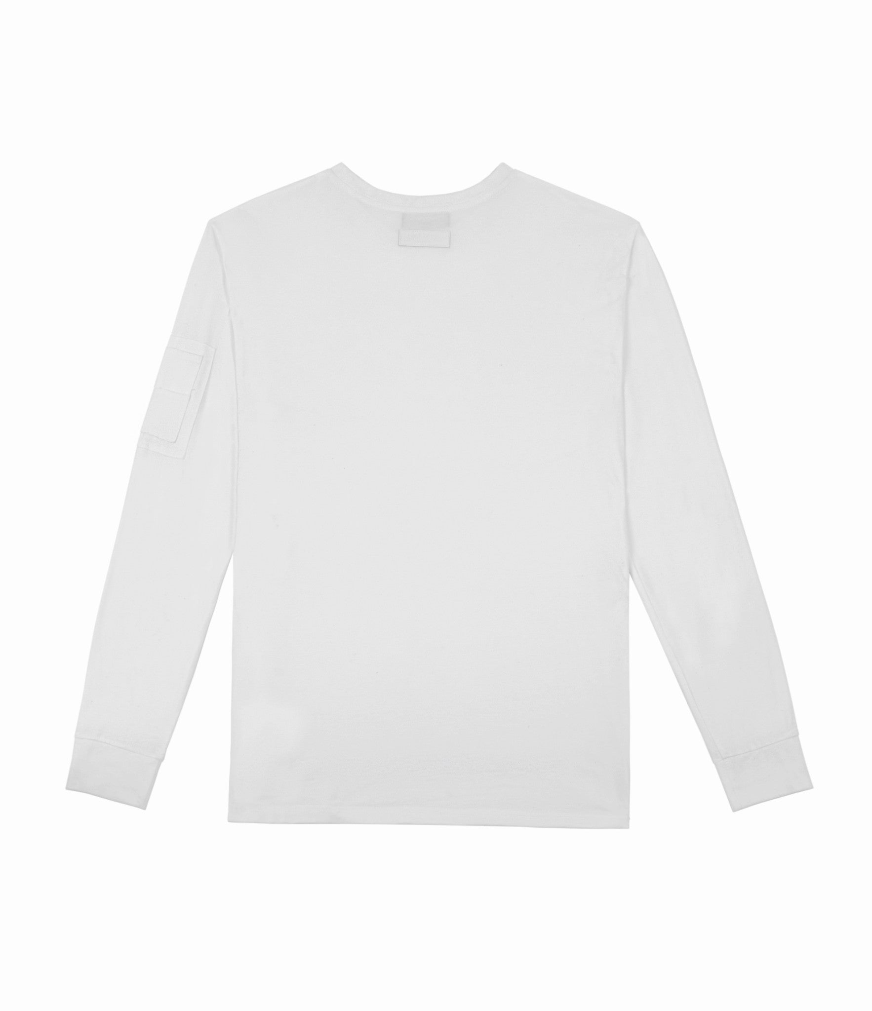 LS303 Utility Long-Sleeve Tee - White - underated london - underatedco - 3