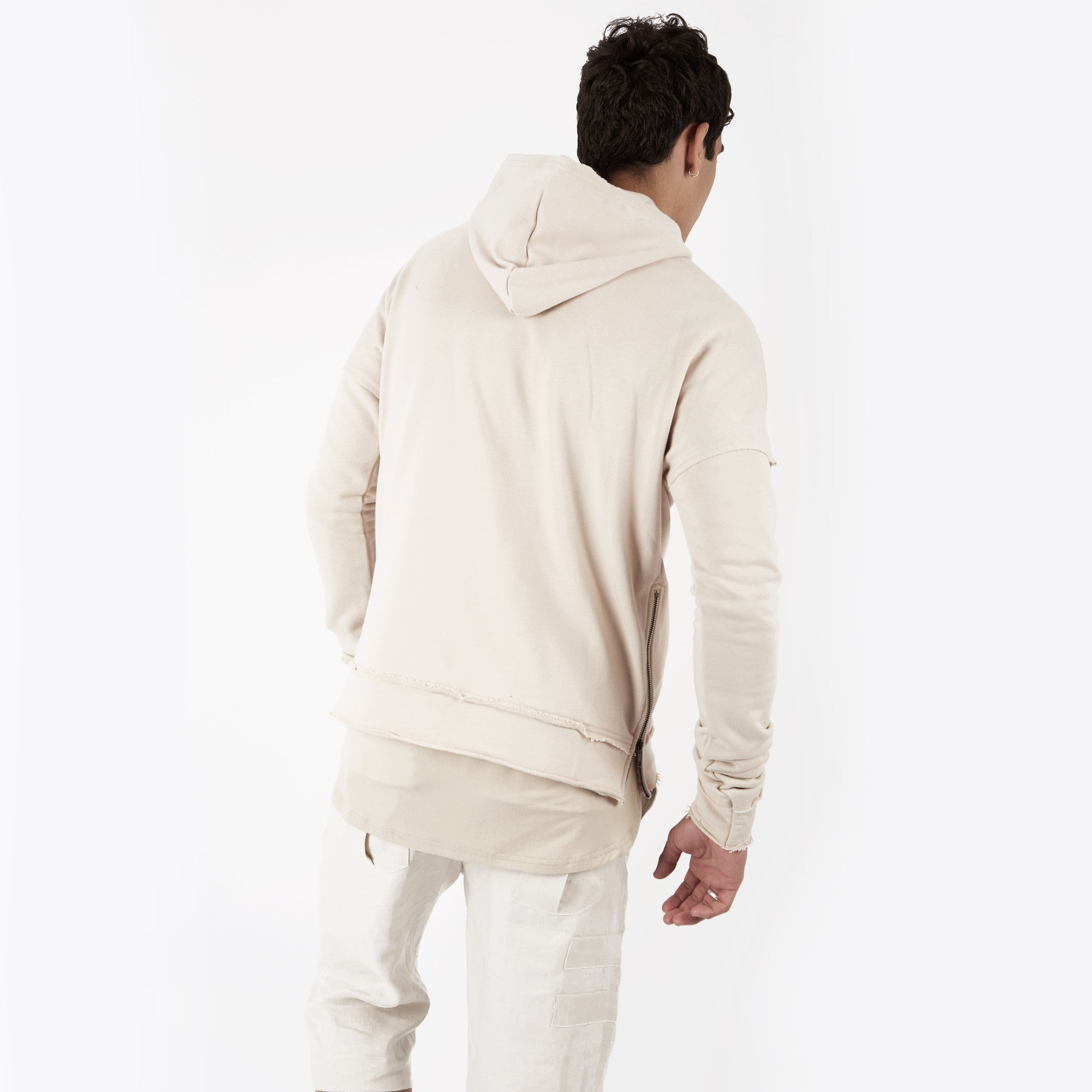 HD315 Exile Oversized Hoody - Sand - underated london - underatedco - 5