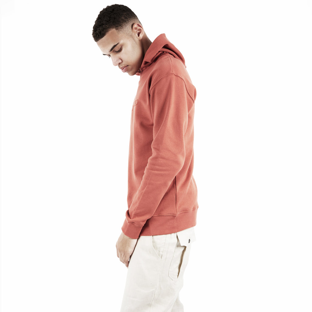 HD395 Essential Print Hoody - Rust - underated london - underatedco - 5