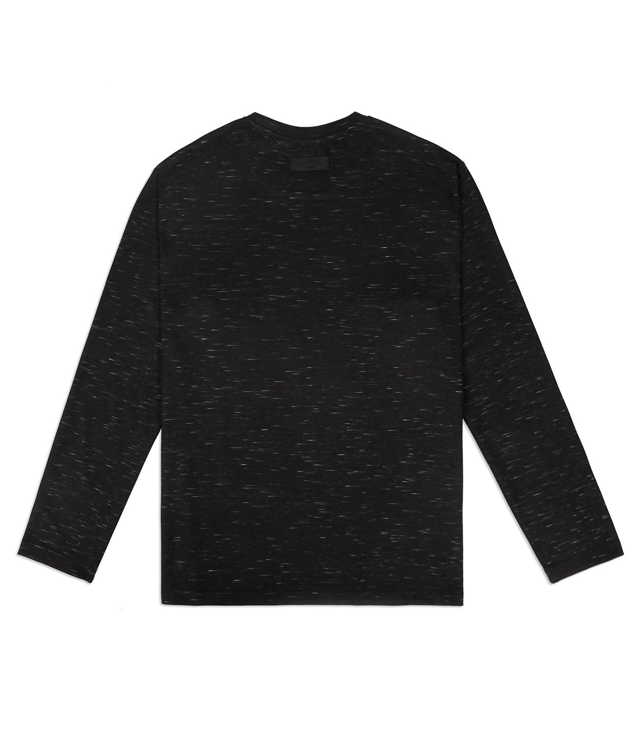 TS379 Knit Jersey L/S Tee - Black - underated london - underatedco - 7