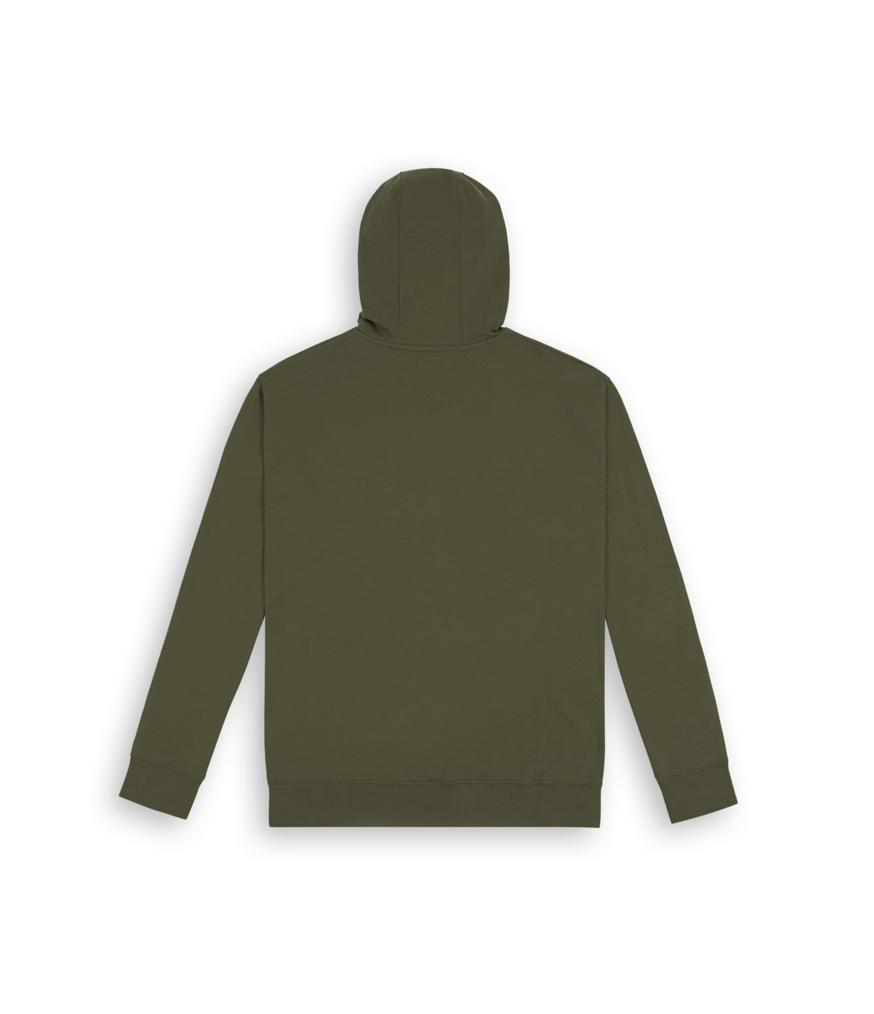 HD395 Essential Print Hoody - Khaki - underated london - underatedco - 5