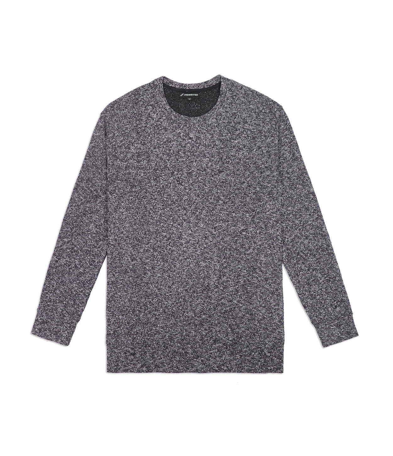 SW375 Elongated Knit Jumper - Black - underated london - underatedco - 1