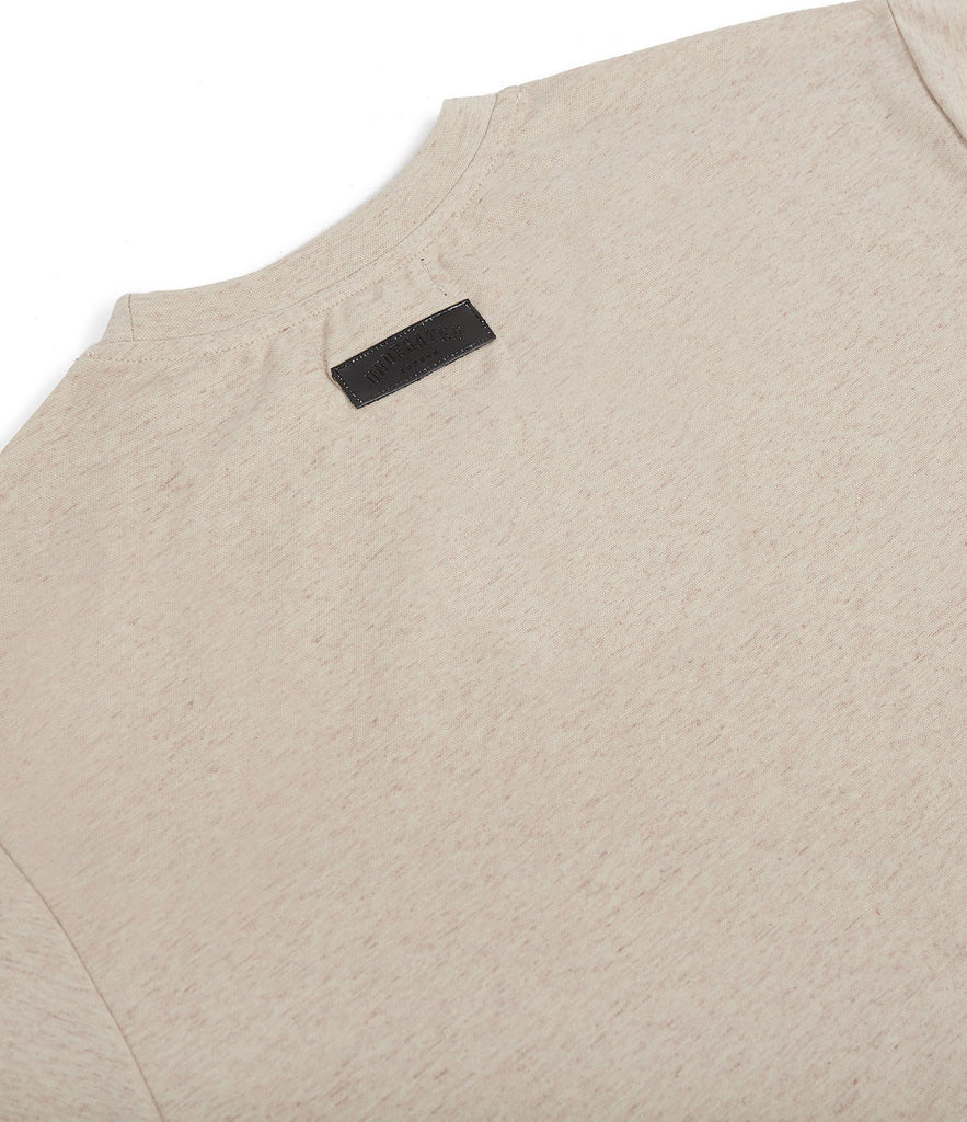 TS379 Knit Jersey L/S Tee - Sand - UNDERATED