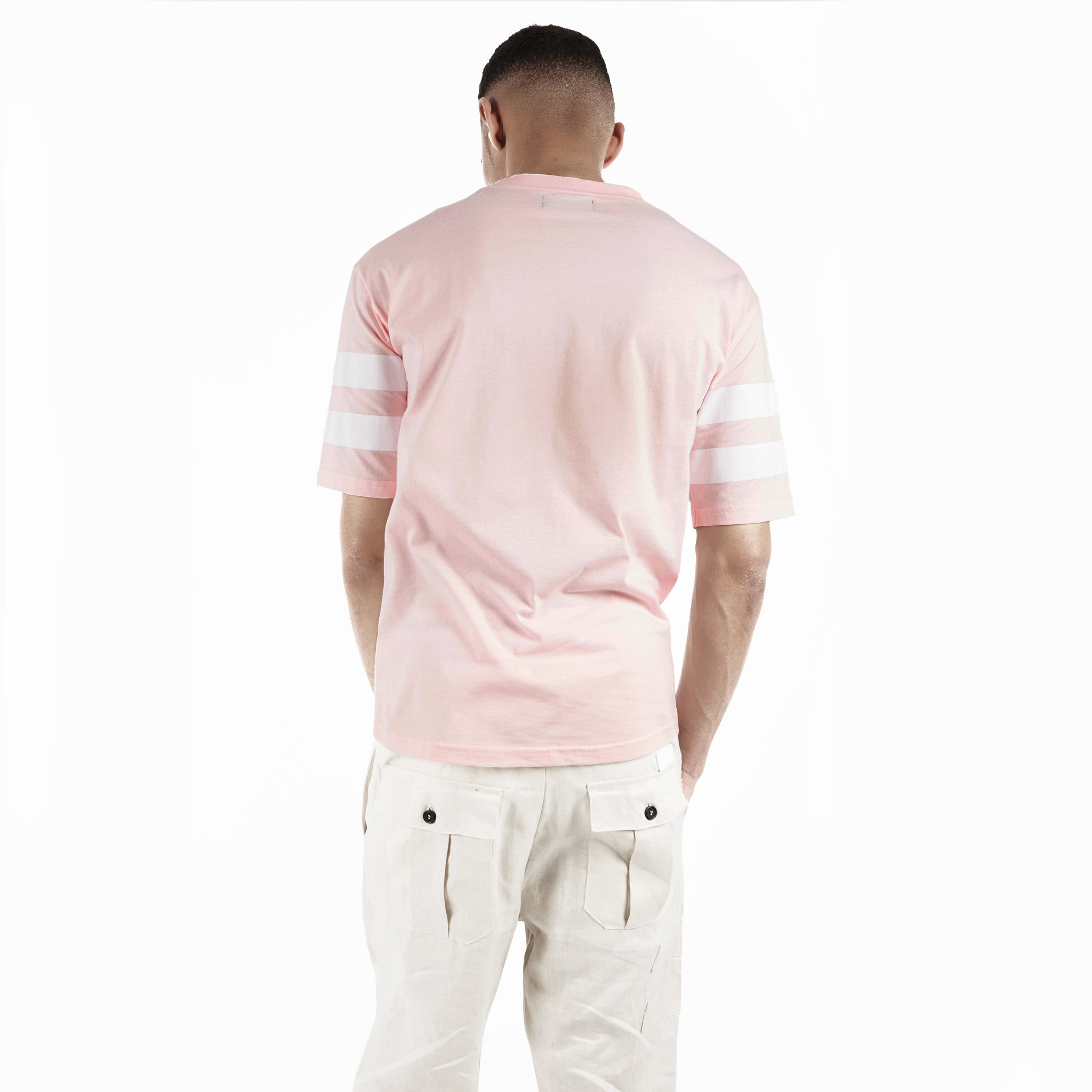 TS404 Print Tee - Pink - underated london - underatedco - 4