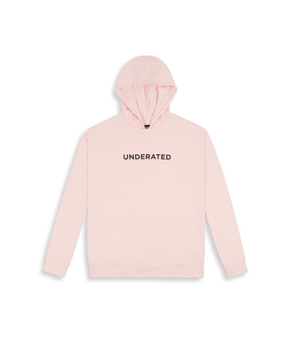 HD395 Essential Print Hoody - Pink - underated london - underatedco - 1