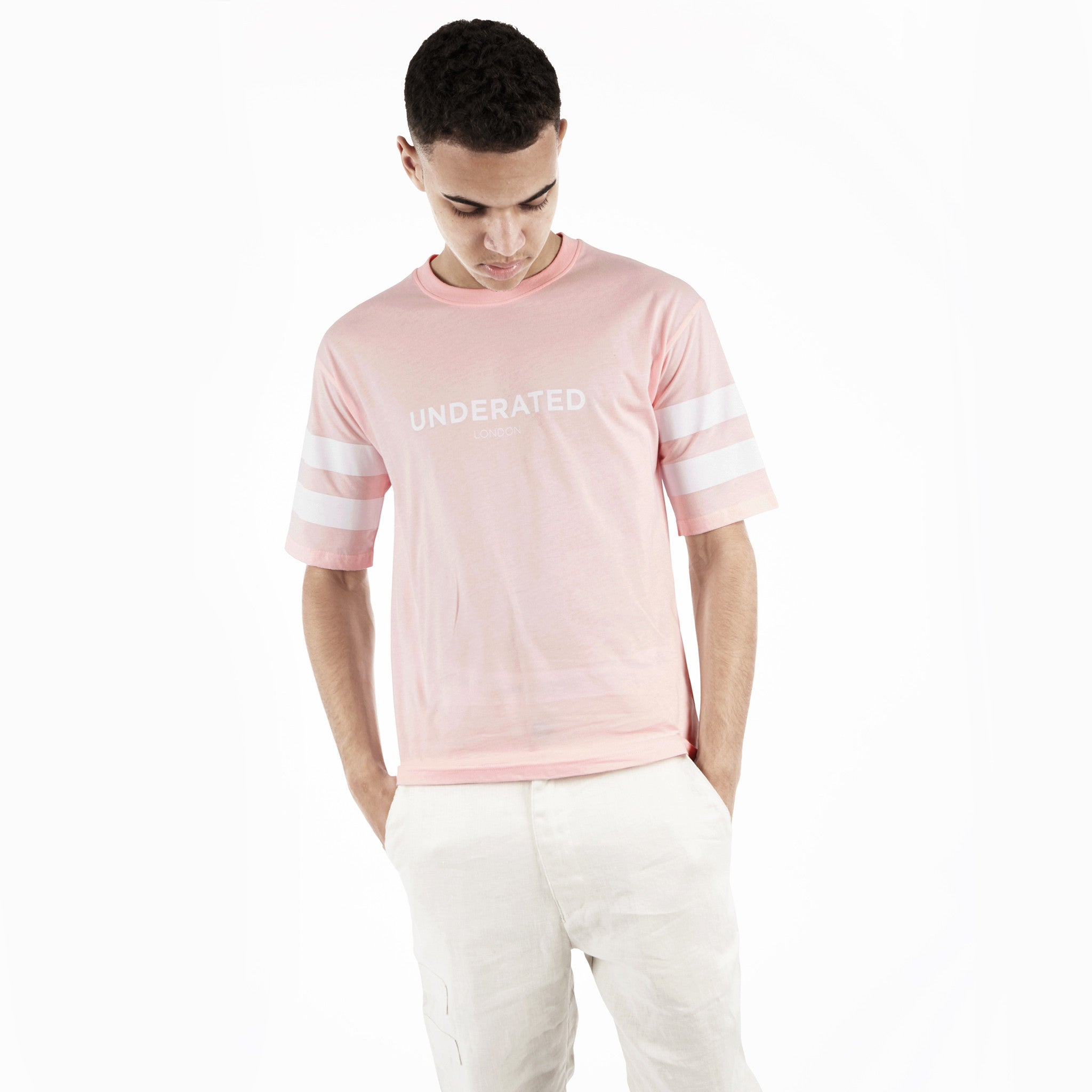 TS404 Print Tee - Pink - underated london - underatedco - 6