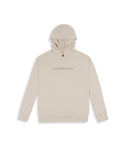 HD395 Essential Print Hoody - Nude - underated london - underatedco - 1
