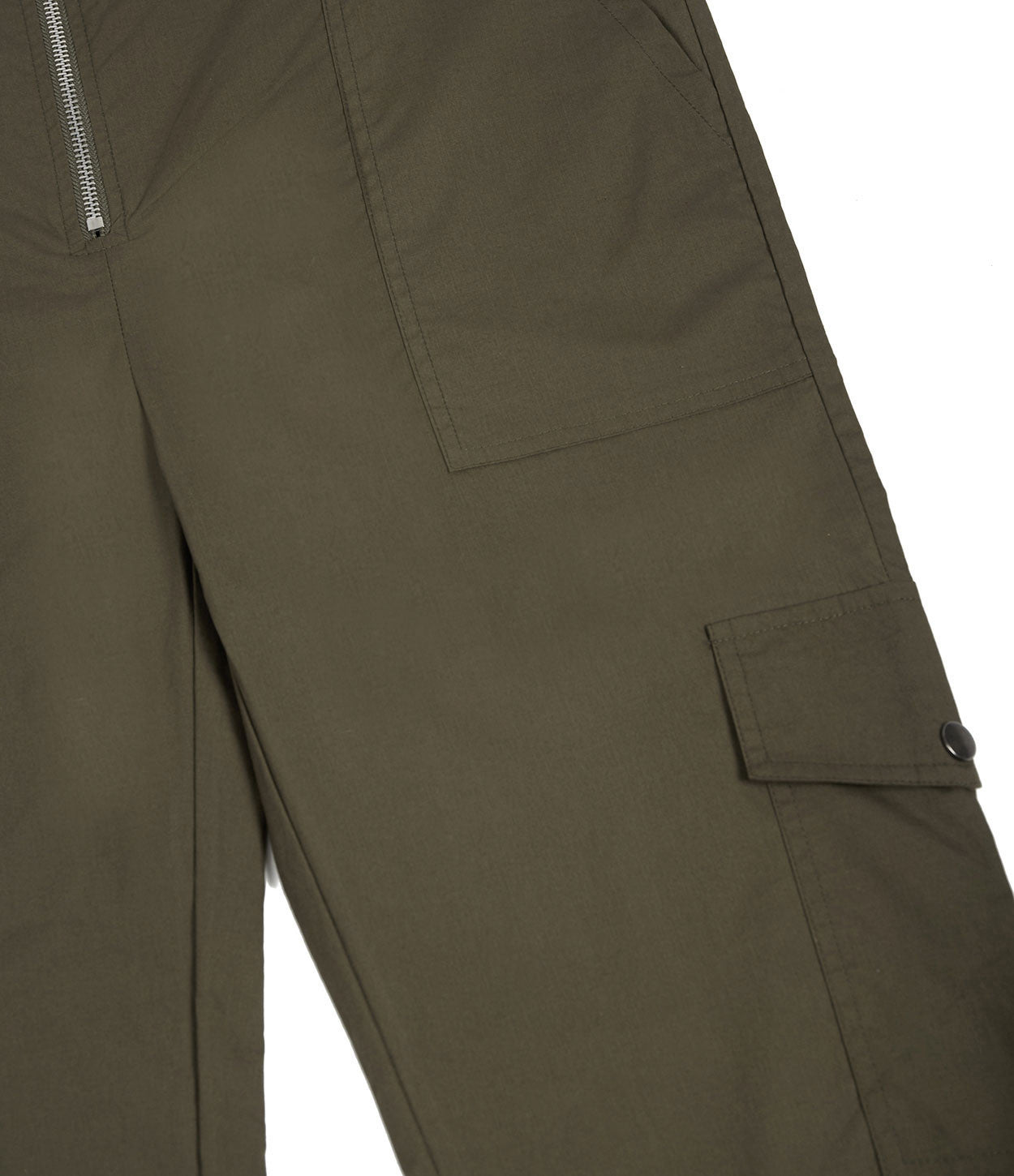 JS368 Boiler Suit - Khaki - underated london - underatedco - 7
