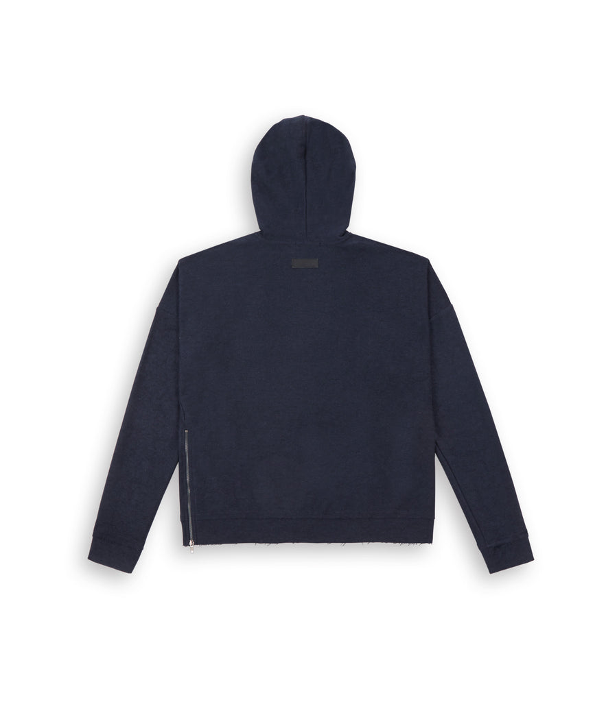 HD310 Oversized Inside Out Hoody - Navy - underated london - underatedco - 3