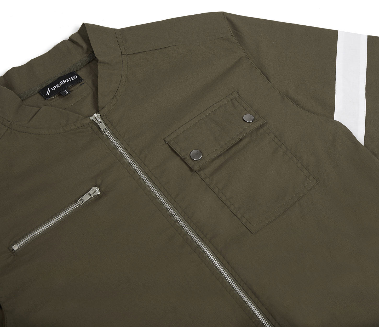 JS368 Boiler Suit - Khaki - underated london - underatedco - 6