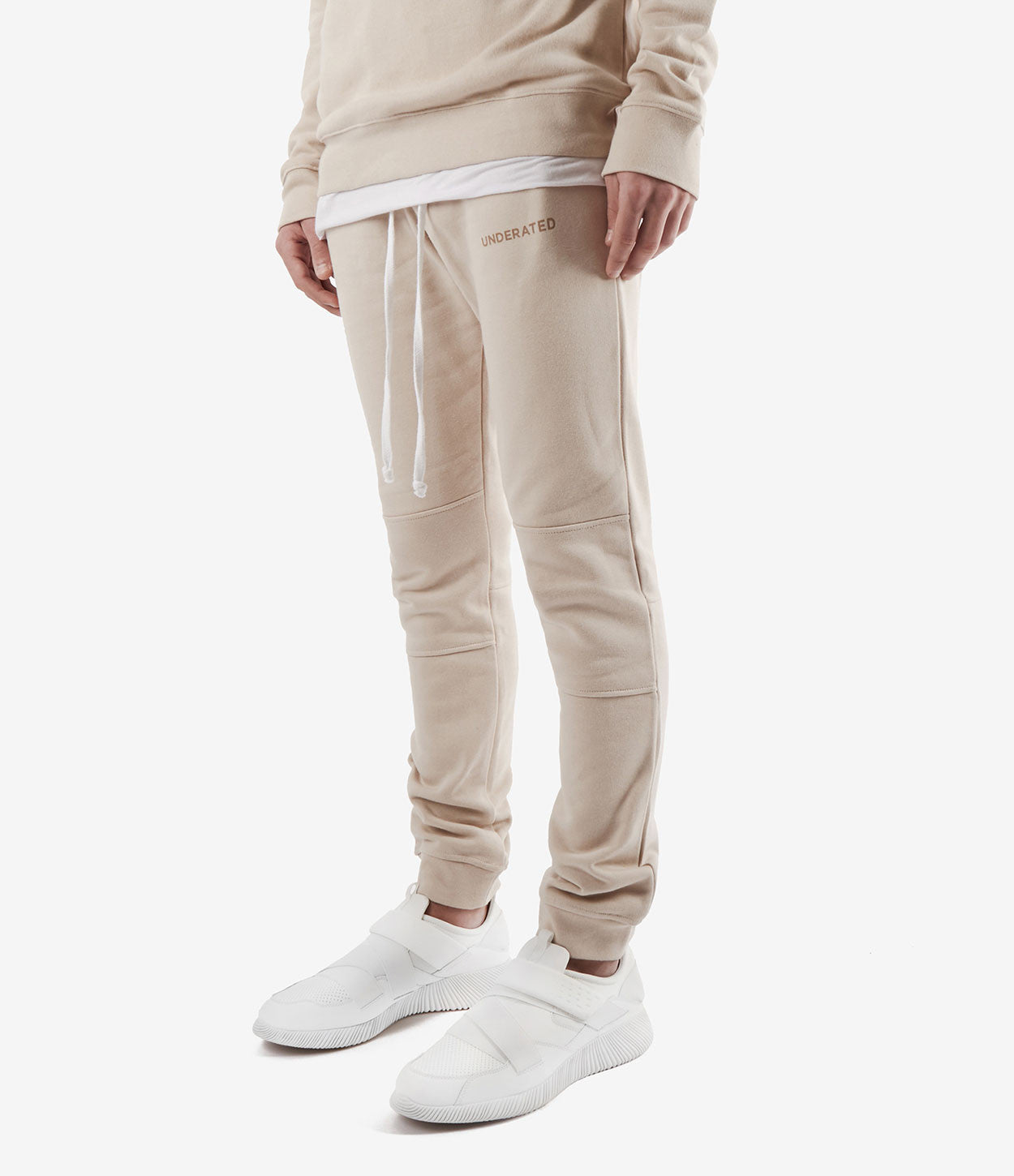 TR355 Essential Joggers - Sand - underated london - underatedco - 3