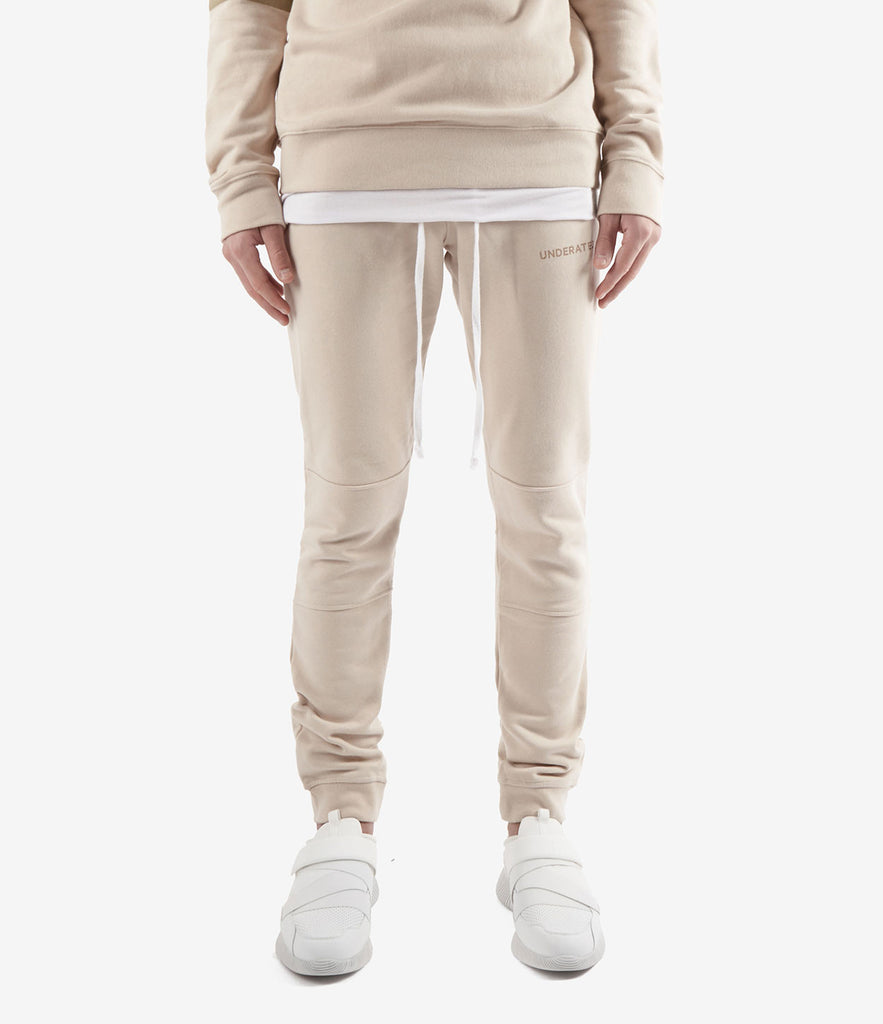 TR355 Essential Joggers - Sand - underated london - underatedco - 2