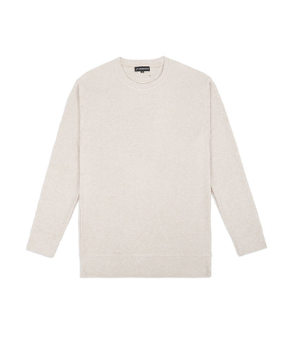 SW375 Elongated Knit Jumper - Sand - underated london - underatedco - 1