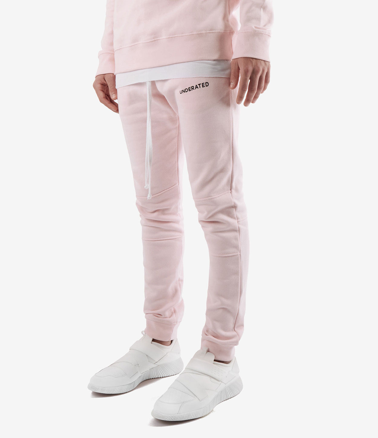 TR355 Essential Joggers - Pink - underated london - underatedco - 3