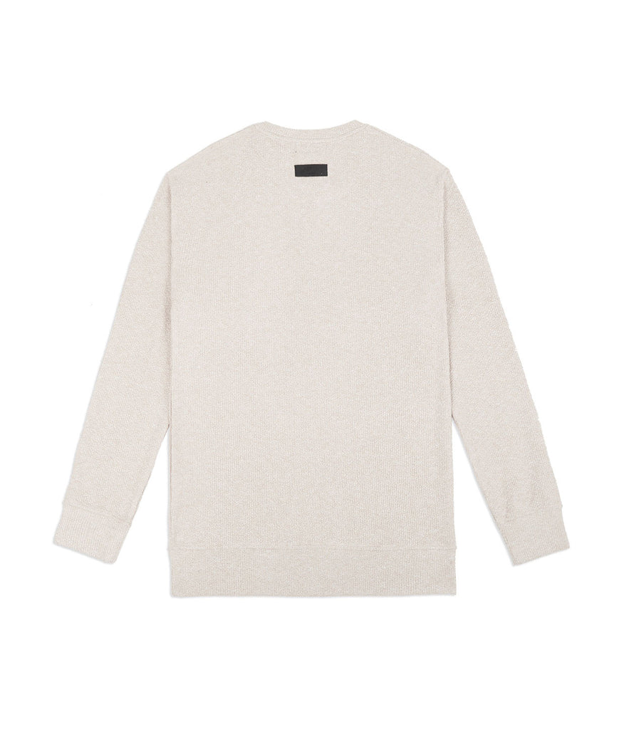 SW375 Elongated Knit Jumper - Sand - underated london - underatedco - 5