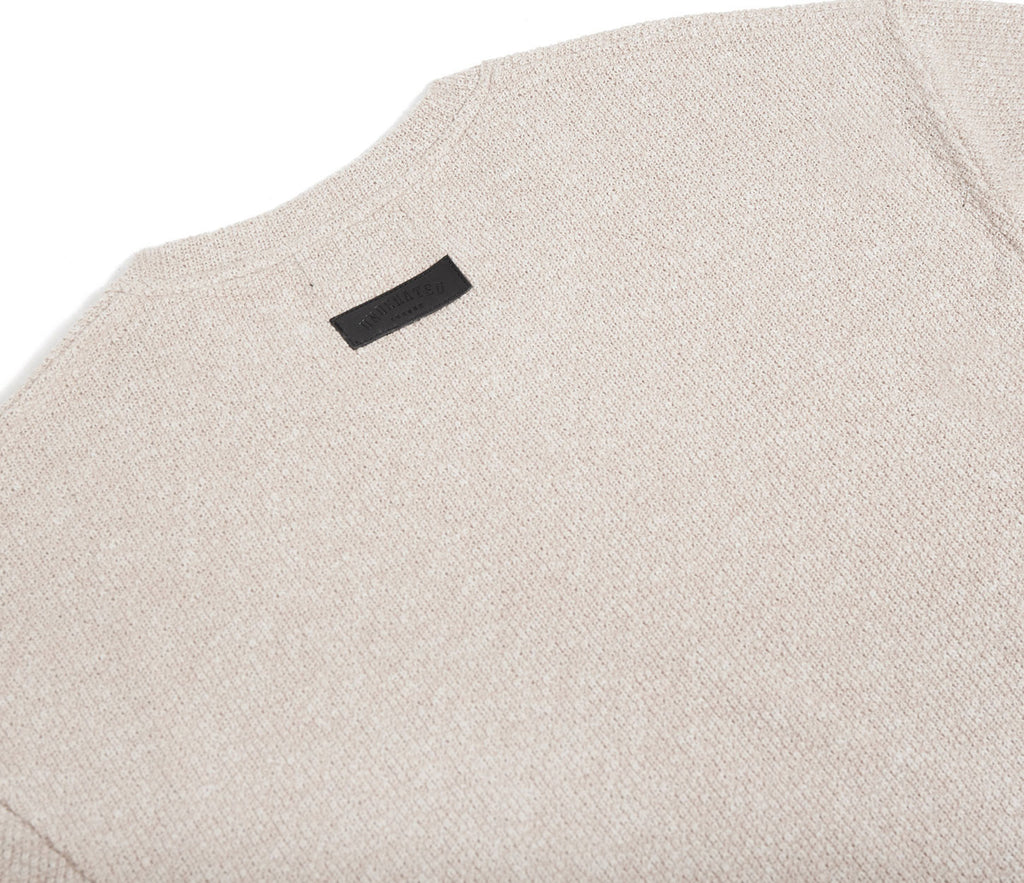 SW375 Elongated Knit Jumper - Sand - underated london - underatedco - 7