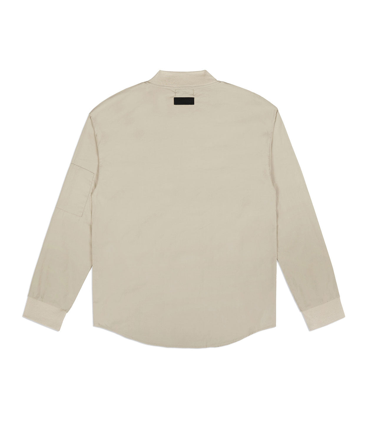 SH357 Bomber Shirt - Sand - underated london - underatedco - 5