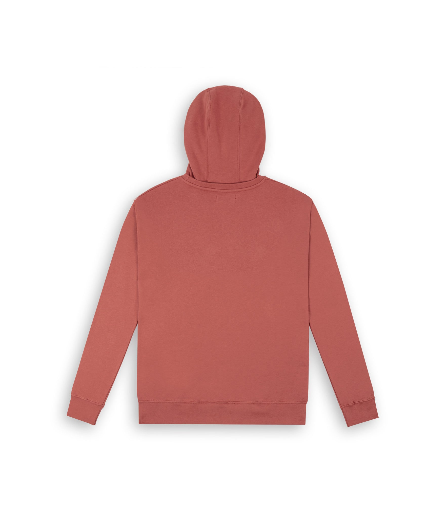 HD395 Essential Print Hoody - Rust - underated london - underatedco - 3