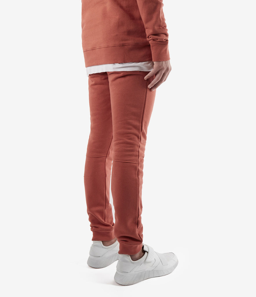 TR355 Essential Joggers - Rust - underated london - underatedco - 4