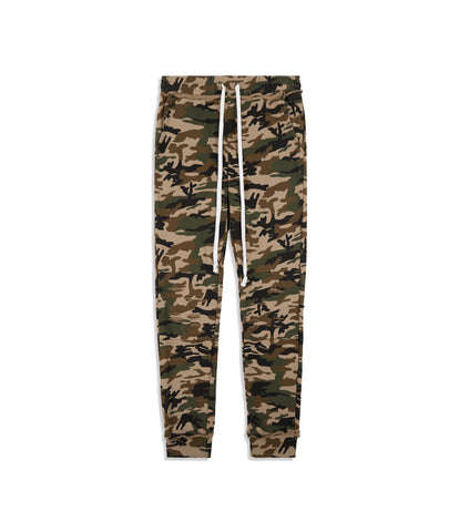 TR360 Distressed Camo Joggers